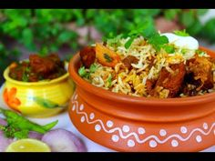 Hyderabadi Mutton Dum Biryani is the most loved delicacies of the country. Chicken Korma Recipe, Dum Biryani, Eid Special, Red Chili Powder, How To Cook Rice, Clarified Butter, Fennel Seeds, Special Recipes, Food Festival
