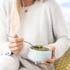 Quiet cleanse evenings with our Spring Veggie & Lentil Soup. Slow cooked spring vegetables in a beautiful light broth with that all important protein from creamy brown lentils. Warm nourishing & light.  Join us for THE WINTER CLEANSE www.prodjuice.com.au #prodjuice #thespringcleanse #myprodjuicecleanse #organic  @samantha_mackie by prodjuice