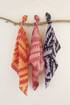 Image of Tinkona Silk Scarf - square