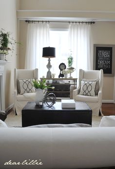Superbe And We Also Had Fun Joining Jennifer Rizzo And Several Other Bloggers For A  1 Room · Formal Living RoomsLiving Room IdeasSmall ...