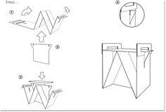 Простая мебель из картона Origami Furniture, Diy Cardboard Furniture, Cardboard Design, Paper Furniture, Cardboard Chair, Diy Storage Furniture, Playhouse Furniture, Furniture Design, Cardboard Fireplace