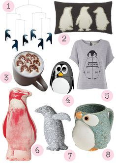 Today we're rounding up our favorite wintery designs inspired by PENGUINS! (so waddle-y and cute)