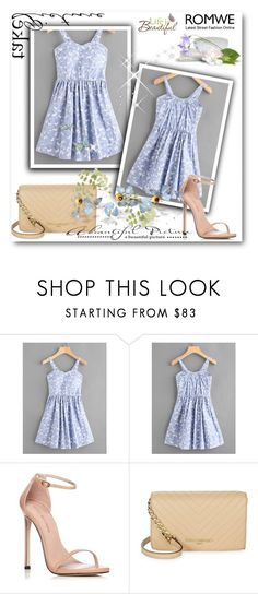 """""""Dress"""" by sekicaprija ❤ liked on Polyvore featuring Stuart Weitzman, Karl Lagerfeld and Wall Pops!"""