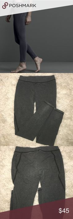 James Perse leggings Barley been worn. In great condition. No damage. Super comfortable leggings. Very soft. Fire a size xs. The color is a greeny gray color. James Perse Pants Leggings