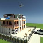 2 Bedroom House plan in Kenya with floor plans (amazing design) - Muthurwa.com 20x30 House Plans, 3d House Plans, Simple House Plans, House Layout Plans, Simple House Design, House Layouts, Two Bedroom House Design, Three Bedroom House Plan, Bungalow House Design