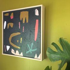 CARNIVAL - soon to be available through @fenton_and_fenton ✖️ • • • #art #smallart #originalart #carlywilliamsart #abstractart #abstract #contemporaryart #artistshome #sharemystyle #interiors #stylist #styling #featurewall #gallerywall #artcollective #colourpop #dscolour