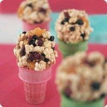 Tutti-Frutti Popcorn Balls