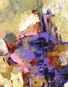 MODERN EXPRESSIONISTIC ABSTRACT Painting by MElizabethChapman