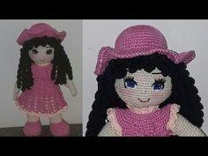 Amigurumi Doll Part 1 Crochet Motif, Crochet Baby, Hot Pads, Double Crochet, Amigurumi For Beginners, Cat Amigurumi, Amigurumi Tutorial, Doll Parts, Crochet Baby Dresses