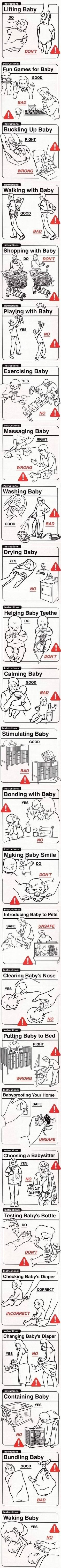 Baby Handling Techniques - very helpful