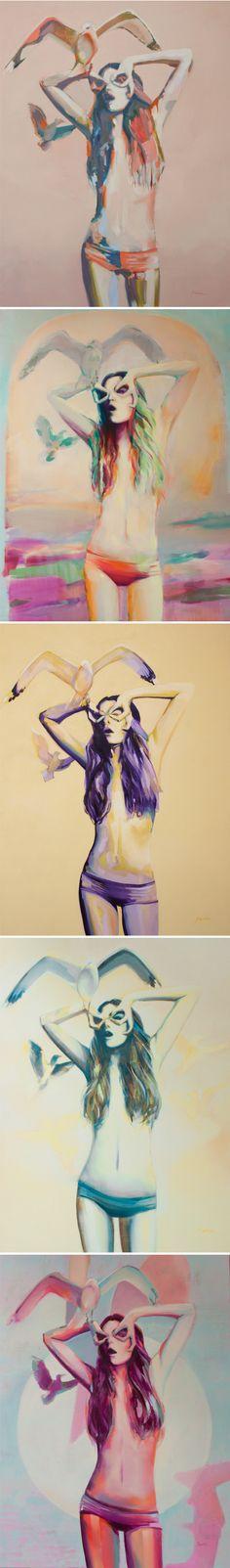 paintings by zoe pawlak <3