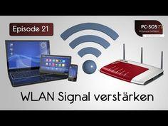 WLan Router - Reichweite verbessern durch neue Antennen ohne Antennenanschluss? M1Molter - YouTube