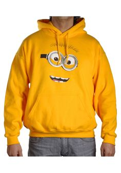 Despicable Me Minion Fleece Hoodie Despicable Me Costume, Minion Costumes, Adult Costumes, Halloween Costumes, My Minion, Minions, Costume Shop, Fleece Hoodie, Hoodies