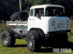 Jeep FC..... FWD just needs a camper attached