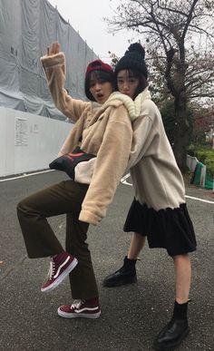 Aesthetic Japan, Japanese Aesthetic, Korean Aesthetic, Japanese Tumblr, Japanese Girl, Japanese Street Fashion, Korean Fashion, Fashion Line, Girl Fashion