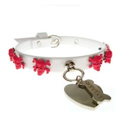 FANCY COLLAR - collare con teschi  - Chic4Dog -