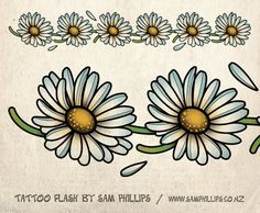 Sams Blog: Daisy Chain Tattoo