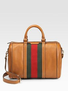 Gucci Vintage Web Medium Boston Bag    Yes please!
