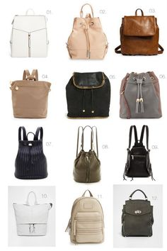 Cool Hunting // The Backpack Purse | The Effortless Chic