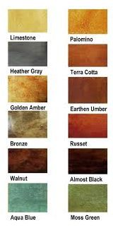 Stained Concrete Floors Ideas| I Love Decoration