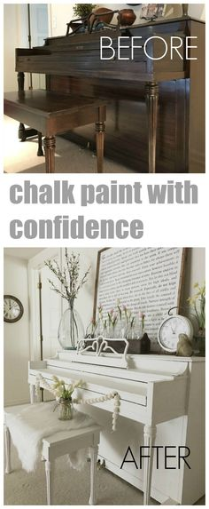 Chalk Paint with Confidence - All you need to know to tackle your next painting project with confidence!