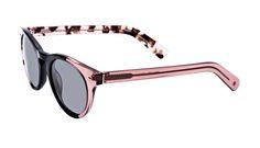 Affordable Fashion Glasses Cat Eye Round Sunglasses Women Nola Rose Black Tilt