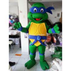 TMNT Mascot Teenage Mutant Ninja Turtle Mascot Costume Adult Character Halloween Party Carnival Costume