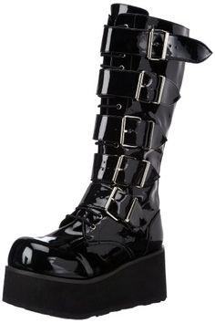 7d19608c4dd Demonia by Pleaser Men s Trashville-518 Goth Boot