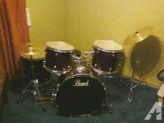Pearl Drumset (Gretna)