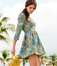 Paisley...  My kid says paisley is scary, but I still WANT this dress!