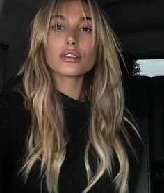 of the most beautiful long hairstyles with bangs 2017 . - 57 of the most beautiful long hairstyles with bangs 2017 … of the most beautiful long hairstyles with bangs 2017 . - 57 of the most beautiful long hairstyles with bangs 2017 … . Onbre Hair, Wavy Hair, Blonde Hair Bangs, Blonde Fringe, Bangs Hairstyle, Thin Hair Bangs, 2017 Hairstyle, Long Brunette Hair, Blonde Waves