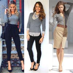 Peças essenciais no guarda-roupa feminino para o trabalho