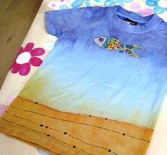 dc6447a3f88 hand painted T-shirt ručně malované tričko