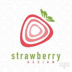 Exclusive Customizable Logo For Sale: strawberry design | StockLogos.com
