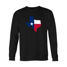 *HOLIDAY SPECIAL* Texas Flag Crewneck Sweatshirt