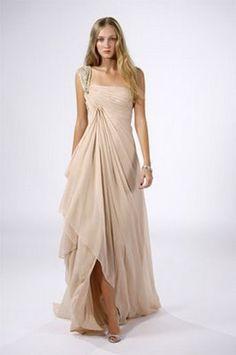 Vestidos drapeados largos | Estilo y Belleza