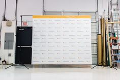 #Media #Backdrop for King's Signs in #Burnaby #BC www.can-design.ca