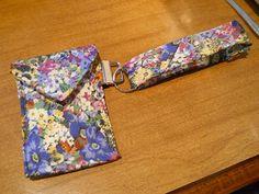 Free Sewing Tutorial : Repurposed: Tie Wristlet