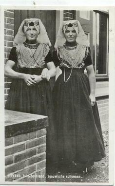 Traditional Dutch Costume Zeeland