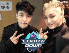 Kai, Lay - 160616 Mnet M! Countdown twitter update