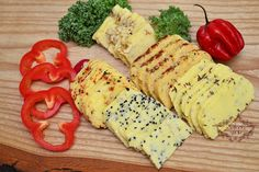 Domowy ser żółty Meat And Cheese, Wine Cheese, Meat Sandwich, Polish Recipes, Sushi, Cake Recipes, Breakfast Recipes, Sandwiches, Dairy