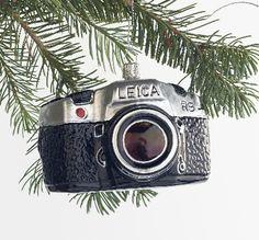Vintage Camera christmas ornament #photography # camera @Jill Mott