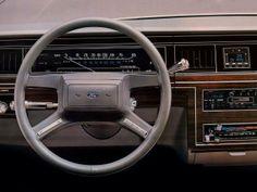 Car Interiors • 1983 Ford LTD Crown Victoria