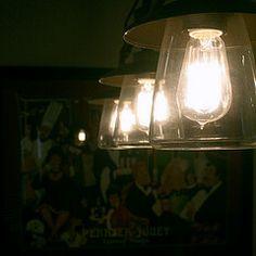 3-light Edison Bulb Pendant. #lights