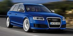 The C6 version of the RS6 Avant is so ridiculous, it's hard to believe Audi ever put it into production. After all, it's a station wagon with a Lamborghini-sourced V10 under the hood. It made 571 horsepower, making it even more powerful than the V10 version of the Audi R8.