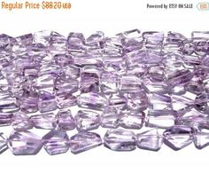 55% OFF SALE 16 Inches  Fine Quality Pink by GemsAndBeadsEmporium