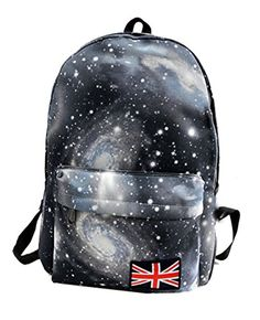 Our bag is Suitable for #both boys and girls to use. 100% brand new and high quality.Dreamy and lifelike starry sky pattern style shoulders bag, very fashion and...