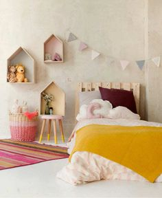 Add some colour and fun to your little miss's room with these 10 Gorgeous Girls Rooms Part 4. These girls rooms are fun, colourful and inspiring!