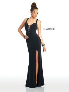 Clarisse's Spring 2019 collection has the hottest styles and trends in Prom and Social Occasion dresses. From sparkling form fitting dresses to elegant ball gowns you are sure to find the dress for you! Tight Prom Dresses, Black Prom Dresses, Short Dresses, Formal Dresses, Elegant Ball Gowns, Occasion Dresses, Dress For You, Sexy, Style