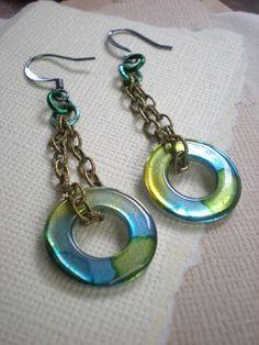 Washer earrings